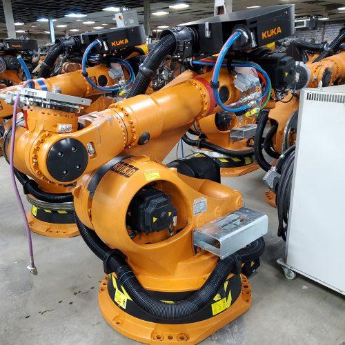 image of a Kuka Robots