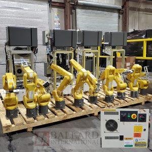 Fanuc LR Mate 200iD 9 robots