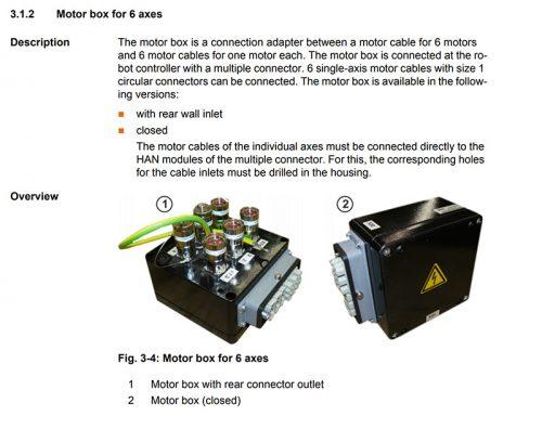 Kuka x20-motor-box information