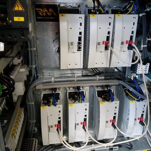 kuka 7th axis drive kit w ksd-64 servo amp