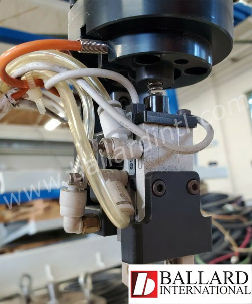 ABB robot IRB-120 end of arm wiring