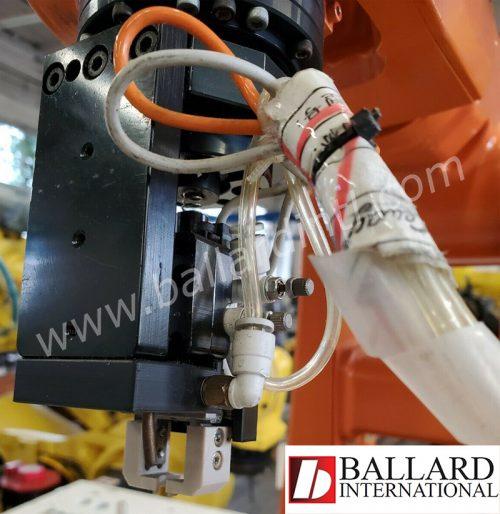 ABB robot IRB-120 end of arm gripper
