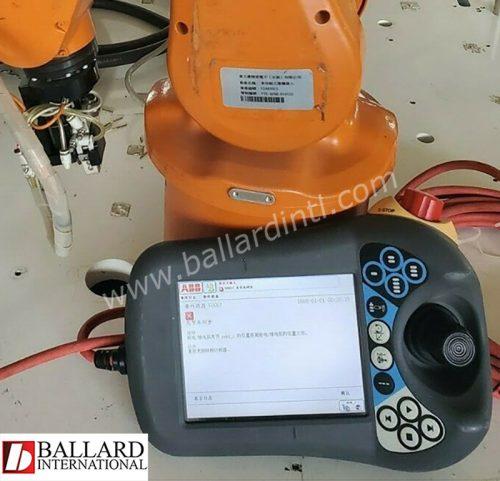 ABB robot IRB-120 w/flexpendant